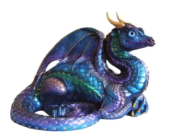 old warrior dragon