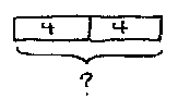 4 times 2 bar diagram