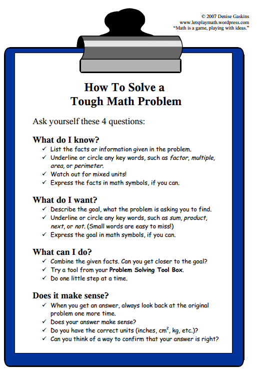 how do you solve this math problem And demonstrates how to set up and solve these  you have to think of the problem in terms of how much each person  if you're not sure how you'd do.