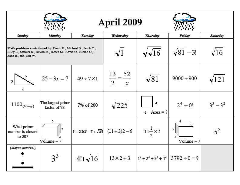 math worksheet : math calendar  denisegaskins  : Calendar Math Worksheet