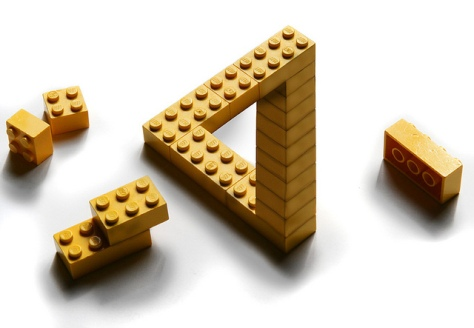Penrose Lego by Erik Johansson (CC BY 2.0)