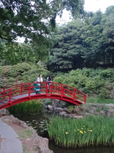 Playing tourist with two of my daughters at Halla Arboretum.