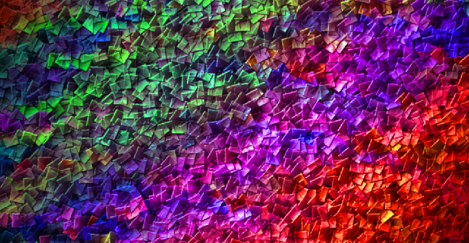 Painted Fragments fractal