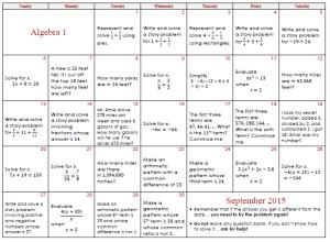 algebra-1-september-2015
