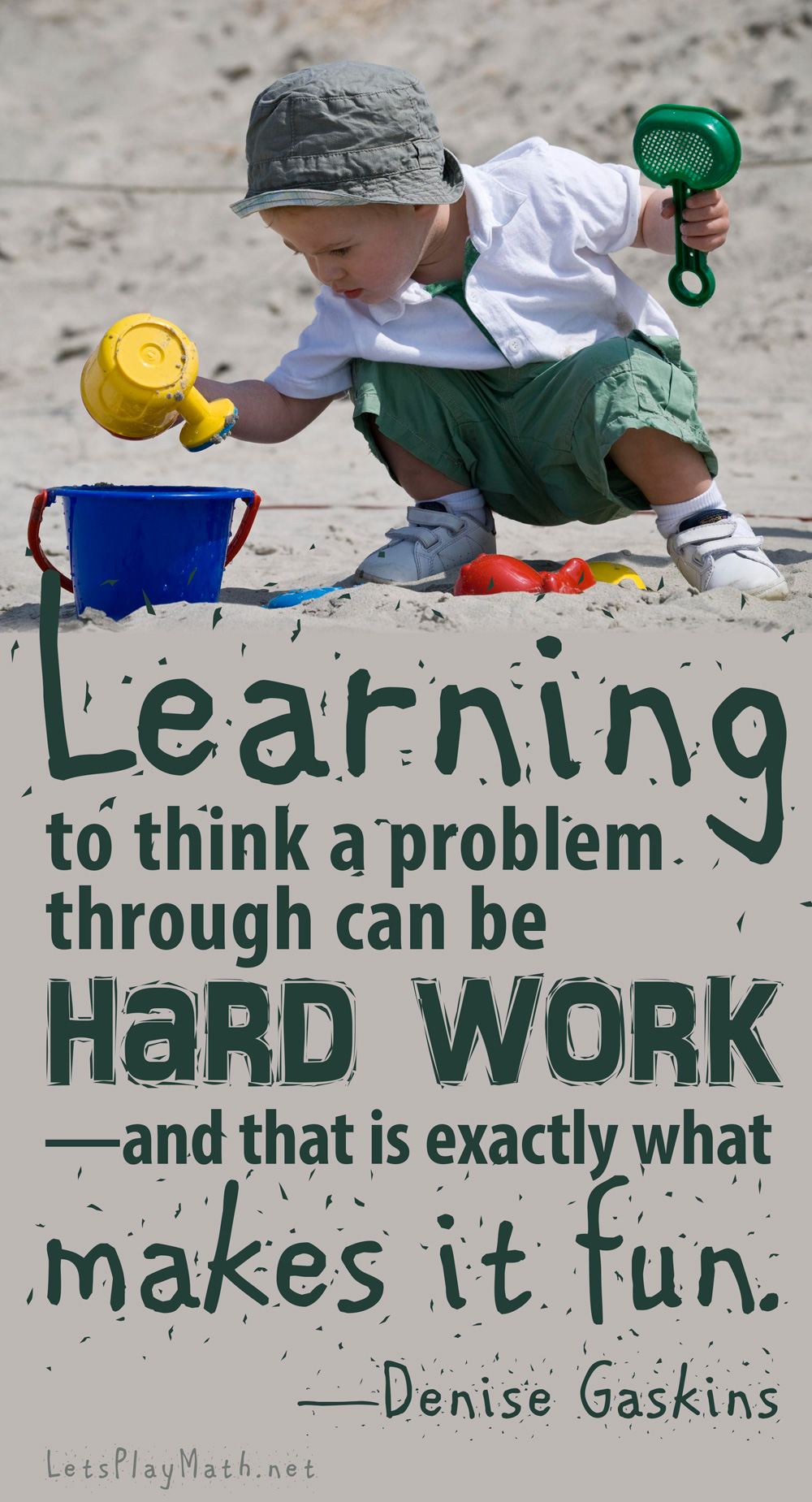 Learning To Think Is Hard Work
