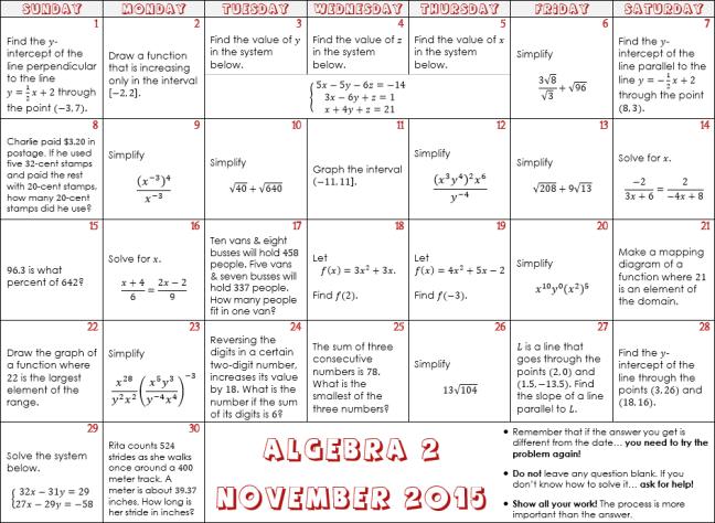 algebra-2-november-2015-preview