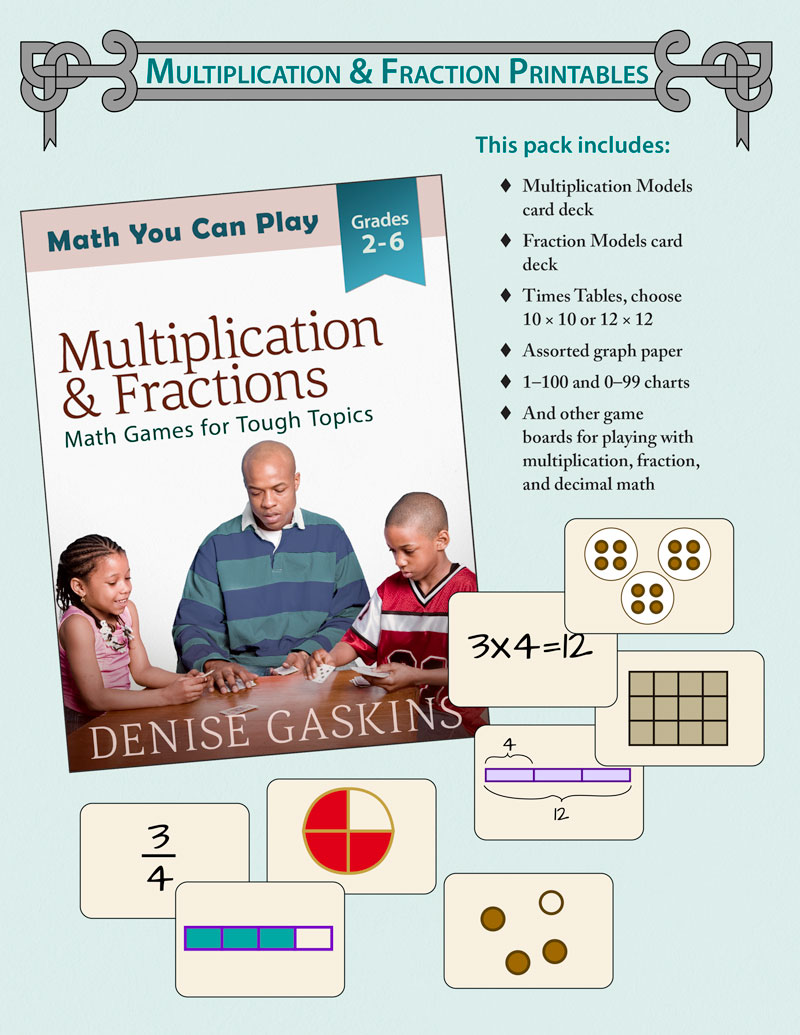 It's just a photo of Multiplication Game Printable with no prep