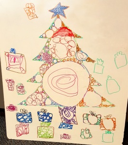 Greetings from my Math Circle kids, and best wishes for a grace-filled holiday season.