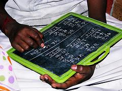 math on slate