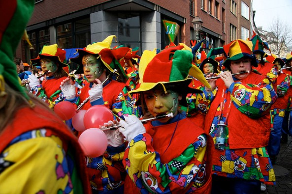 Carnival Parade in Aachen 2007