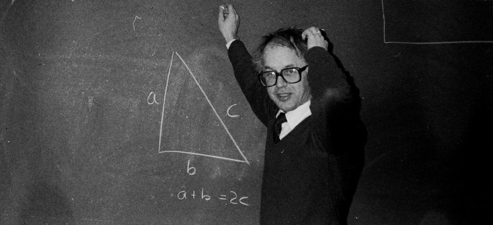 Torsten, math teacher