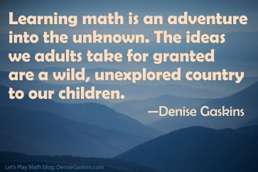 Math & Education Quotations – Denise Gaskins' Let's Play Math