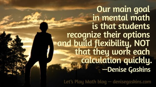 Mental-Math-Goal